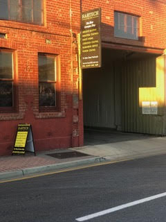 Front entrance to Hartech 34 Adam Street Hindmarsh S.A.5007 - call for abrasive blasting services
